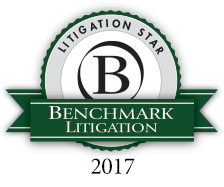 Benchmark Litigation Star 2016